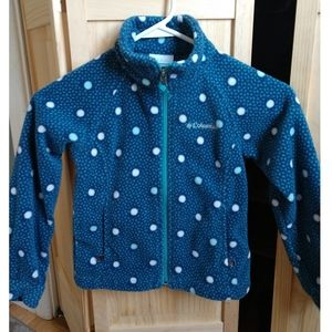 Columbia fleece coat XS